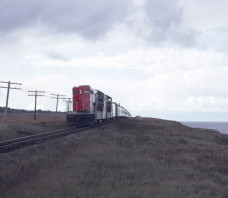 CN  946-931 NF210 Train 102 Wreckhouse NF 1968-10-06