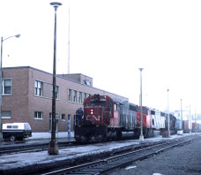 CN  5030 SD40 Edmundston NB 1984-04