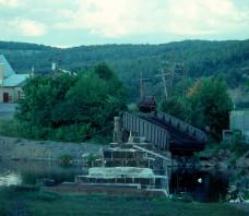 CP Meduxnekeag River Bridge Woodstock NB 1976-09