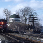 CN 6771 FPA-4 Train 14 Halifax NS 1977-04