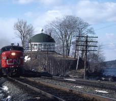 CN 6771 FPA-4 Train 14 Halifax NS 1977-04