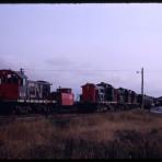 CN 1732 RSC-13 Train 115 Borden PE 1968-10-12